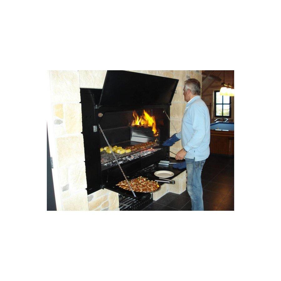Home Fires Afrikaanse Braai 1200 Spitbraai Inbouwmodel-4