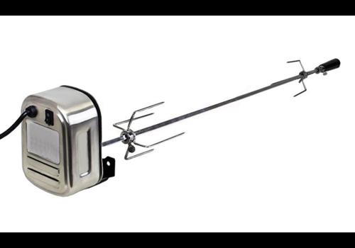 Elektrische spies voor eigenbouw barbecue (geschikt voor vele grills en barbecues)