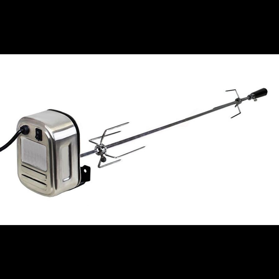 Elektrische spies voor eigenbouw barbecue (geschikt voor vele grills en barbecues)-1