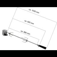 thumb-Elektrische spies voor eigenbouw barbecue (geschikt voor vele grills en barbecues)-2