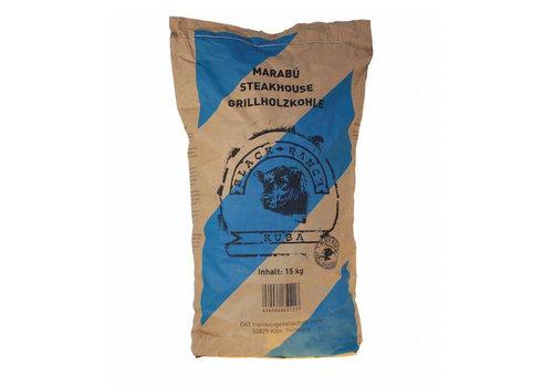 Black Ranch Houtskool Marabu 15 KG