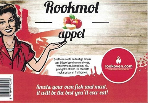 Rookmot Appel 12,5 kg