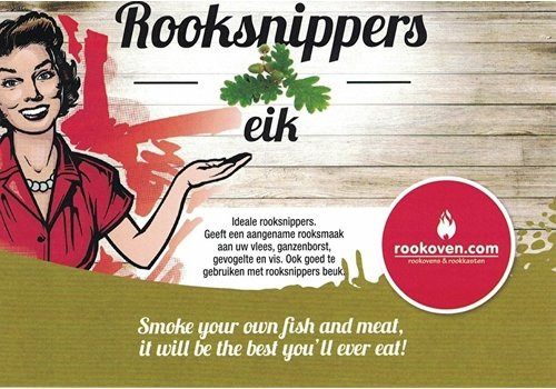 Rooksnippers Eik 1,5 KG