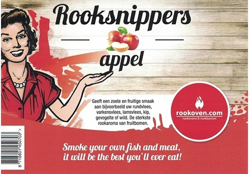 Rooksnippers Appel 500g