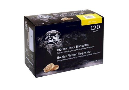 Bradley Briketten Elzen  / Alder 120 Stuks