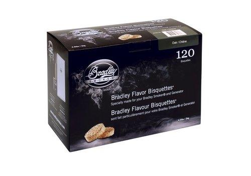 Bradley Briketten Whiskey Eiken / Oak 120 Stuks
