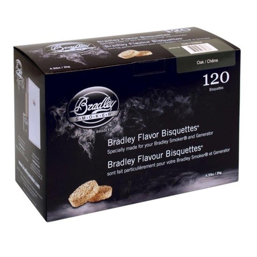 Bradley Briketten Whiskey Eiken / Oak 120 Stuks-1
