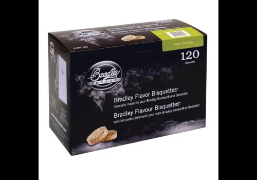 Bradley Briketten Appel  / Apple 120 Stuks