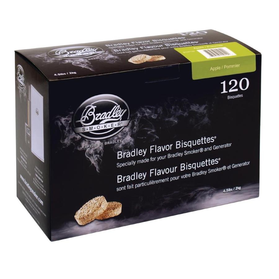 Bradley Briketten Appel / Apple 120 Stuks-1