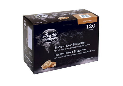 Bradley Briketten Pecan / Pecan 120 Stuks