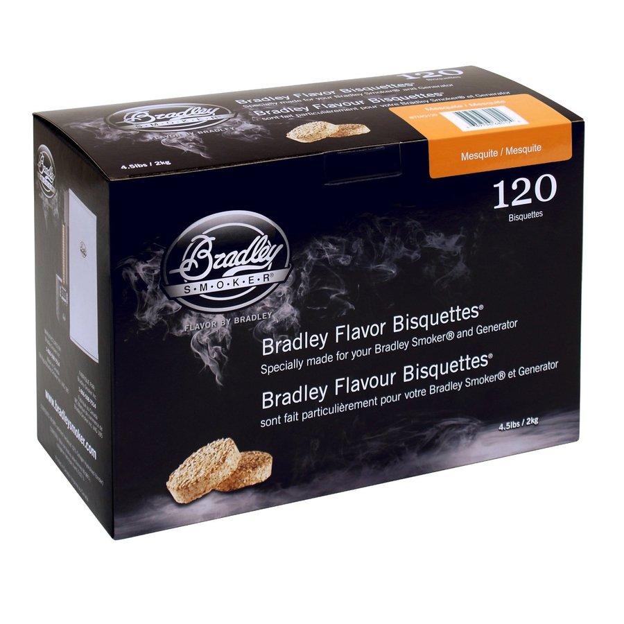 Bradley Briketten Mesquite 120 Stuks-1