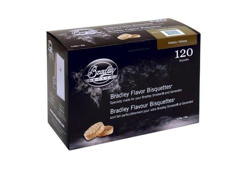 Bradley Briketten Walnoot / Hickory 120 Stuks