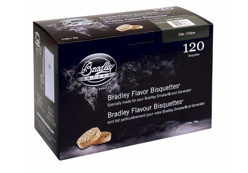Bradley Briketten Eiken / Oak 120 Stuks