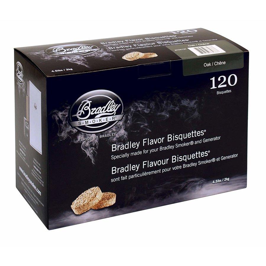 Bradley Briketten Eiken / Oak 120 Stuks-1