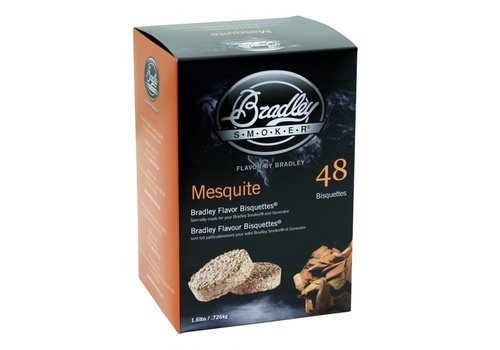 Bradley Briketten Mesquite 48 Stuks