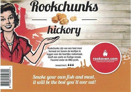 Rookchunks Hickory 1,5 KG