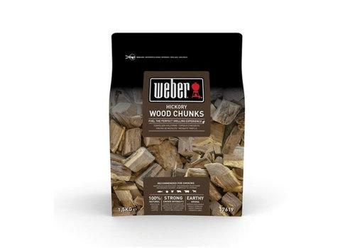 Rook chunks Hickory 1,5 KG Weber