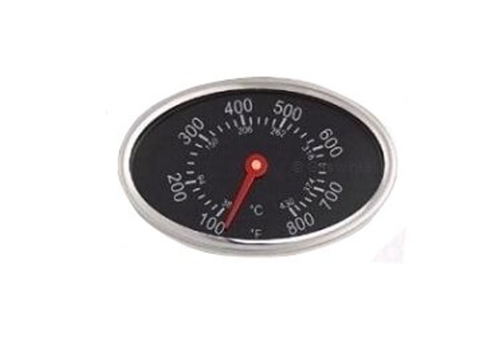 Temperatuurmeter ovaal klok 0-430 graden