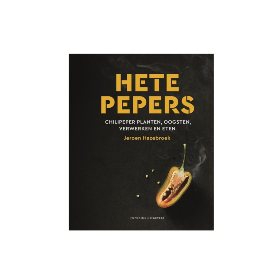 Boek 'Hete Pepers' - Jeroen Hazeboek-1