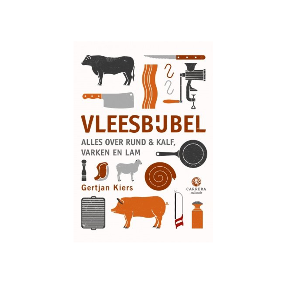 Boek 'De Vleesbijbel' - Gertjan Kiers-1