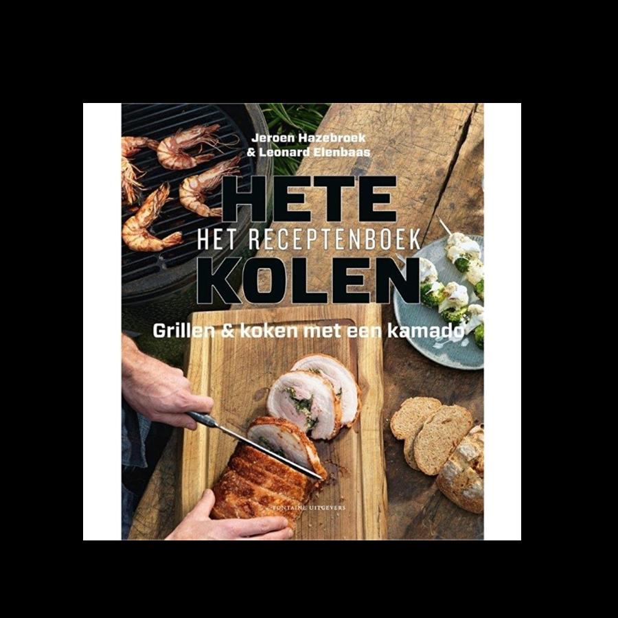 Boek 'Hete Kolen - Het Receptenboek' - Jeroen Hazebroek en Leonard Elenbaas-1