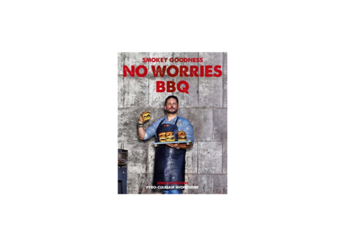 Boek 'Smokey Goodness No Worries BBQ' - Jord Althuizen