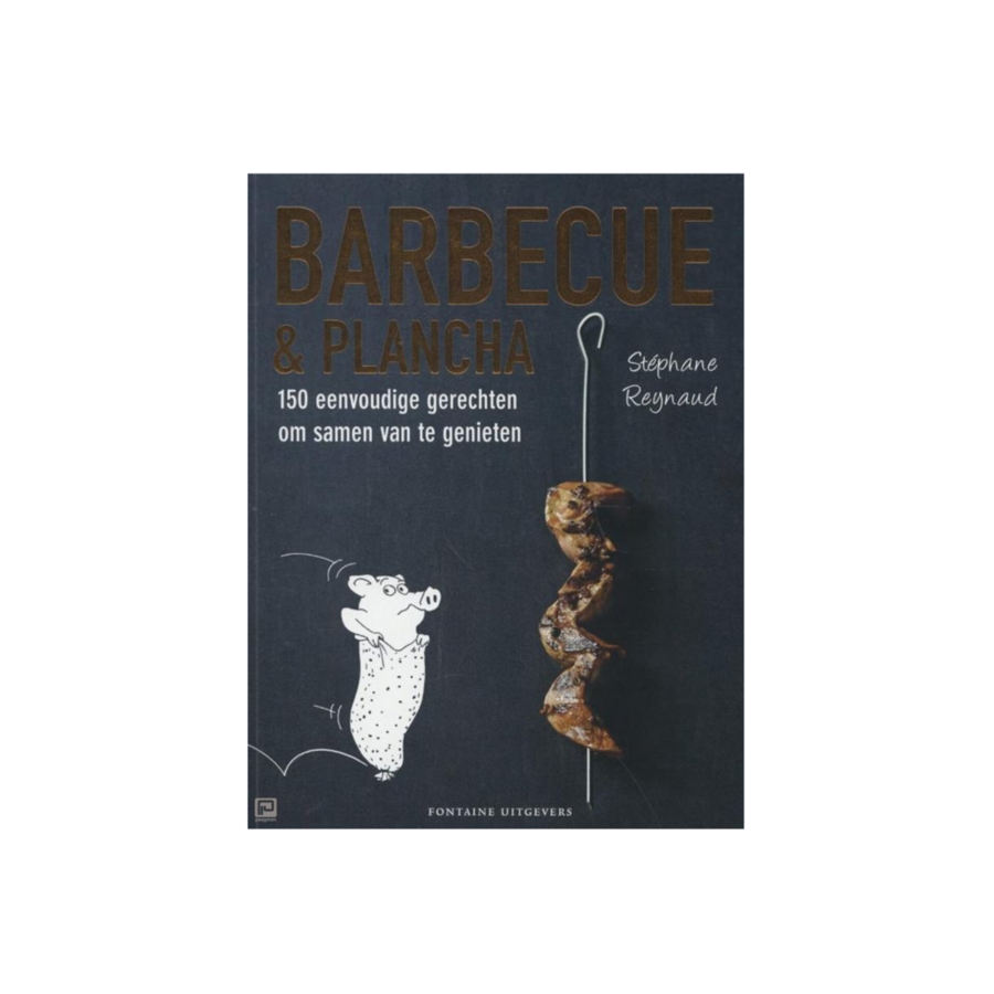 Boek 'Barbecue en Plancha' - Stéphane Reynaud-1