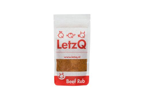LetzQ BBQ Rub Beef (100 gram)