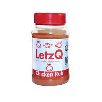 LetzQ BBQ Rub Chicken (300 gram)