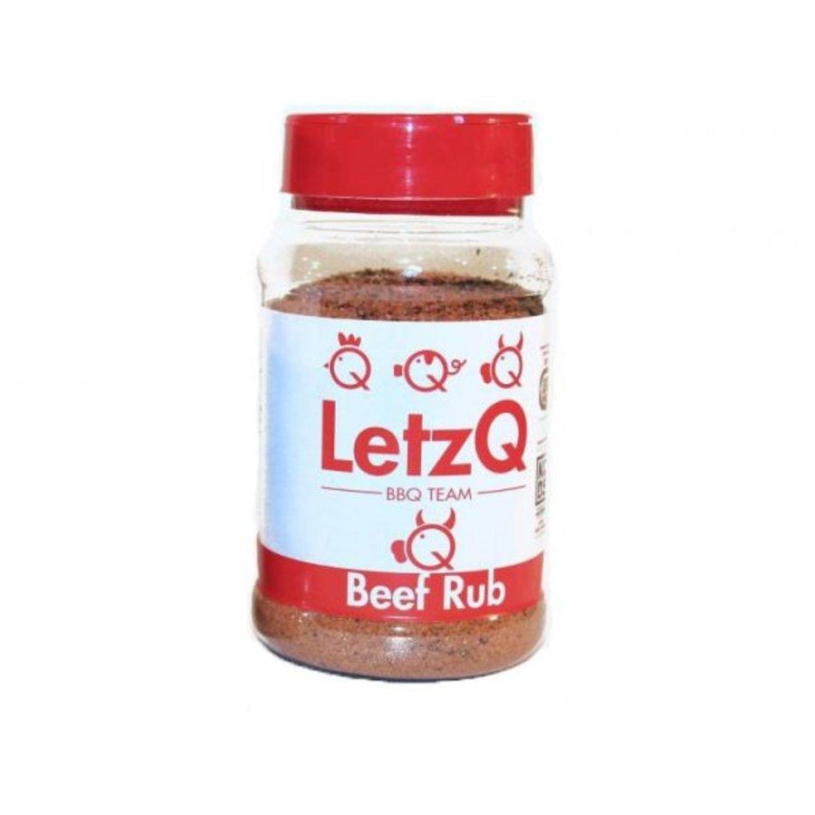 LetzQ BBQ Rub Beef (300 gram)-1