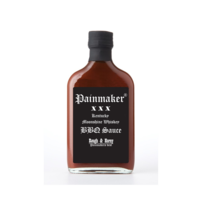 Hot Mama's Painmaker Whiskey BBQ sauce Rough and Horny