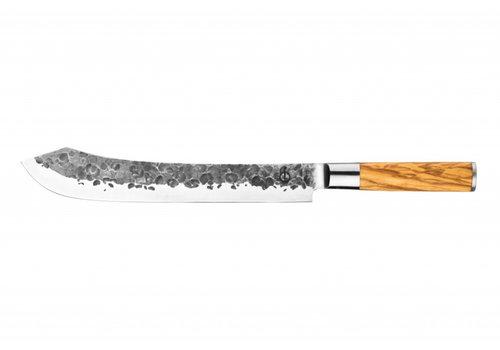 Olive Forged Slagersmes / Butcherknife