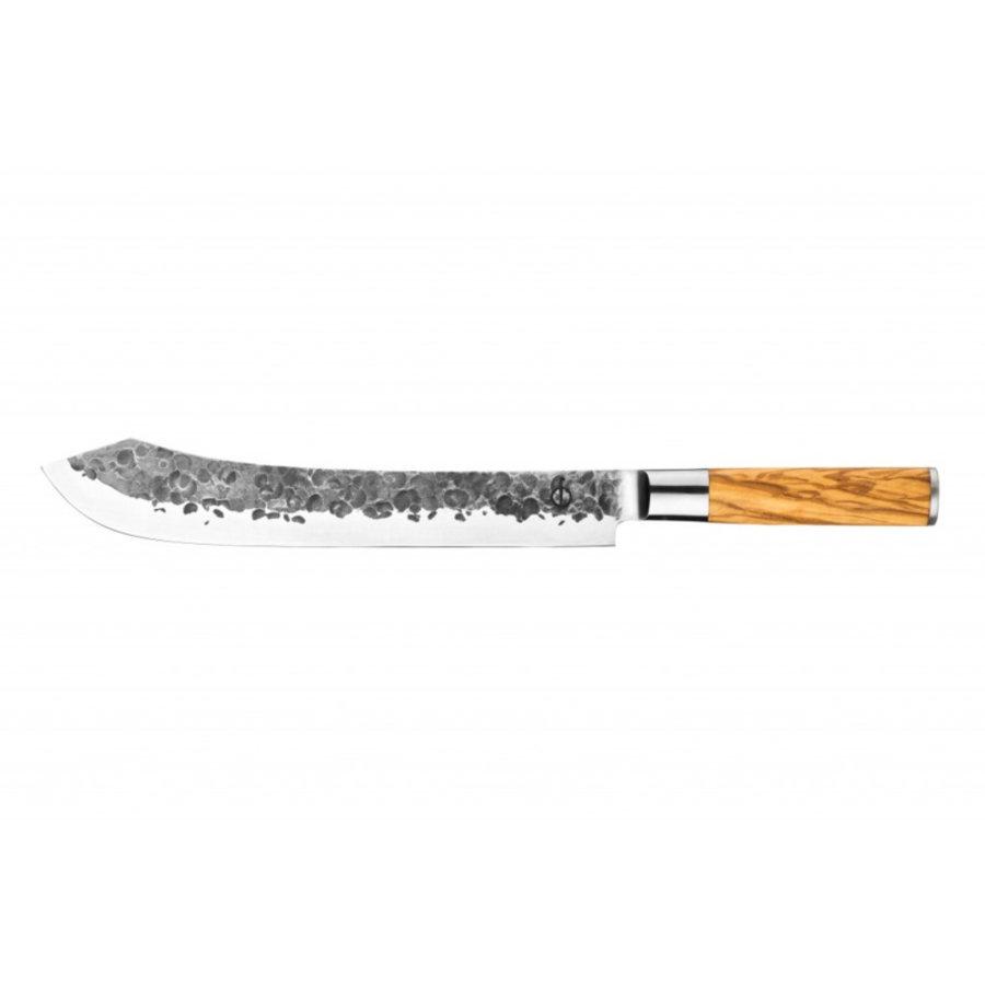 Olive Forged Slagersmes / Butcherknife-1