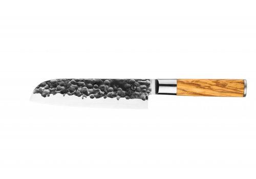 Olive Forged Santokumes 18 cm
