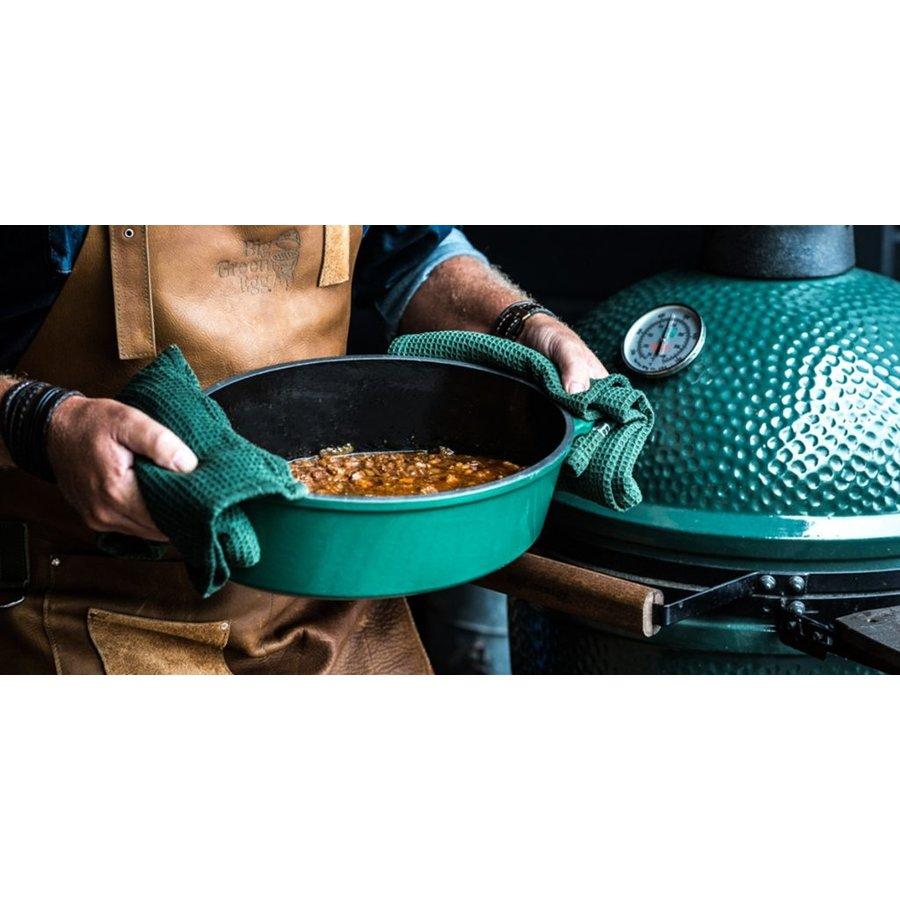 Big Green Egg Green Dutch Oven Ovaal-3