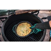 thumb-Big Green Egg Green Dutch Oven Ovaal-5