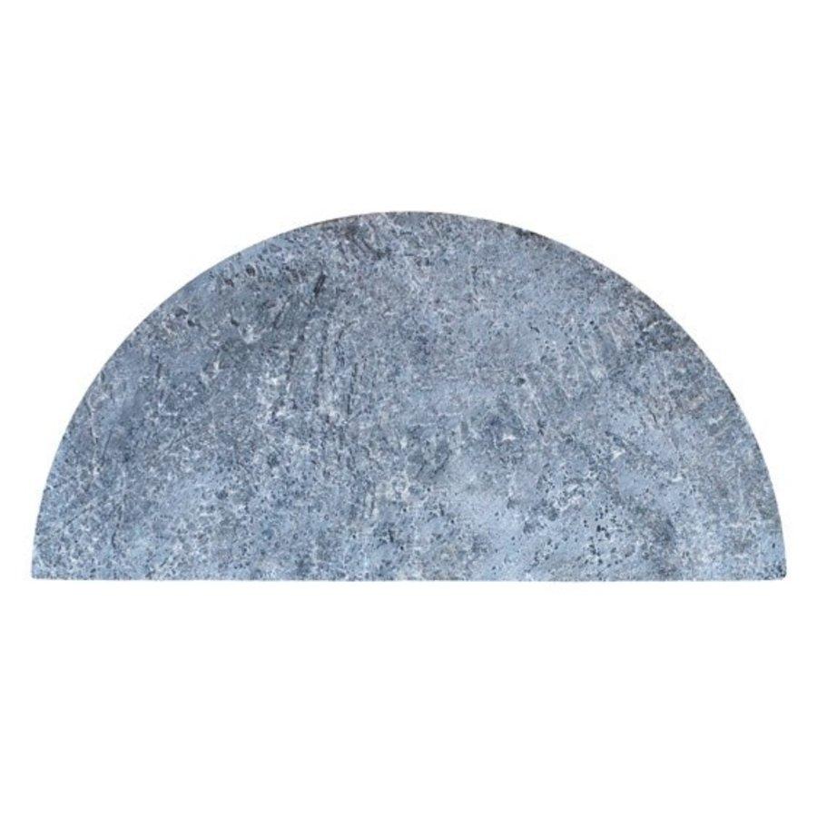 Half Moon Soapstone (Spekstenen) Plate - Classic Joe-1