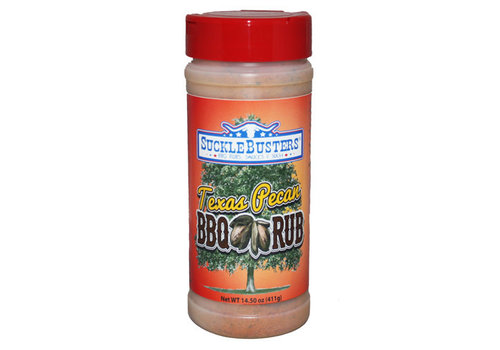 Suckle Busters Texas Pecan - BBQ Rub