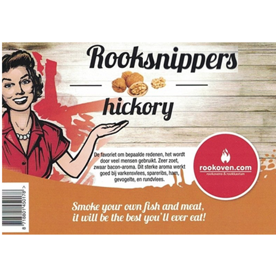Rooksnippers Hickory 1.5 KG-1