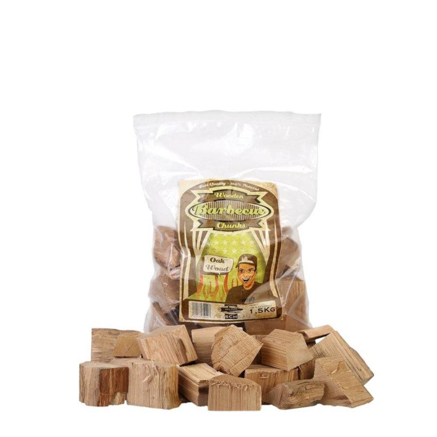 Axtschlag Chunks Oak/Eik 1.5 KG-1