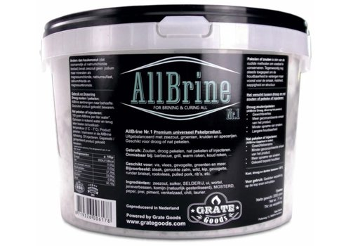 Grate Goods All-Brine Nr. 1 2kg