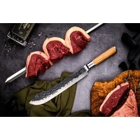 thumb-Churrasco Forged Spies 50 cm-2