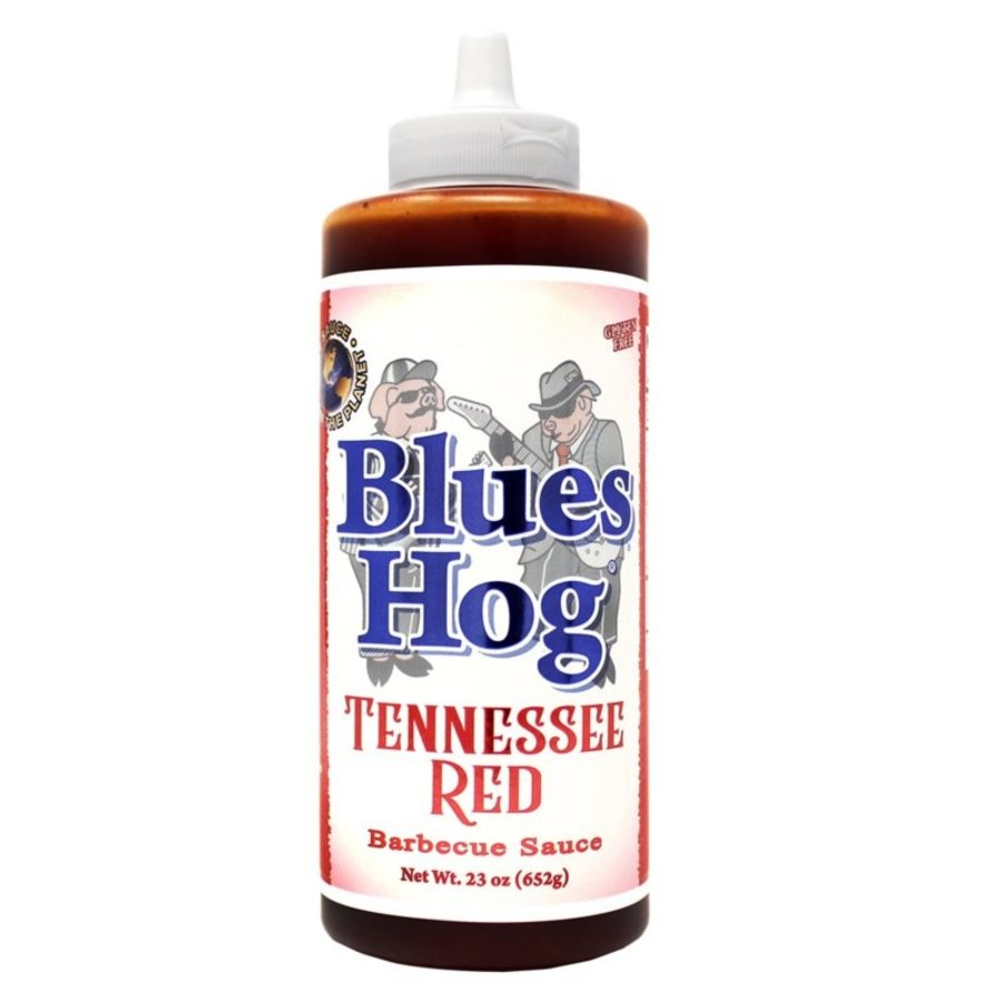 Blues Hog Tennessee Red Squeeze Bottle-1