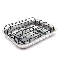 thumb-GrillPro Rib Rack met 3 drip trays-1