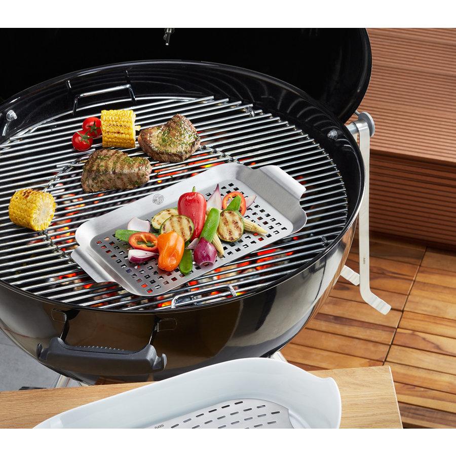 Gefu BBQ grillpan, klein-2