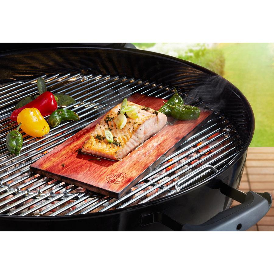Gefu Ceder grillplanken BBQ, 2 stuks-2