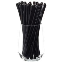 thumb-Glazen rietje Future Black (25 stuks) incl. borstels-1