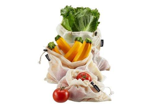 Groente- en fruitnet AWARE, 3 stuks