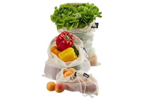 Groente- en fruitnet AWARE, 3-delig S/M/L