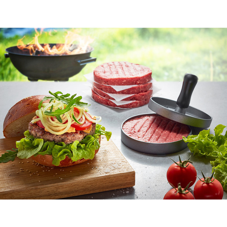 Gefu BBQ Hamburgerpers-2